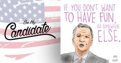 with John Kasich John Kasich, Projects, Fun, Log Projects, Blue Prints, Hilarious