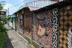 Mural at Yogyakarta — Fotopedia