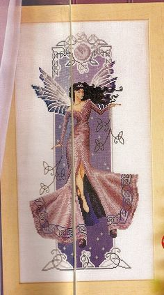 angels, fairies, mermaids and witches cross stitch (p. 39) | Learn Crafts is facilisimo.com