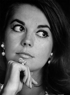 "Natalie Wood "" ""She was divine to look at, and to photograph. She had that wonderful face, a great body, those amazing eyes — just a beautiful young woman, and a lot of fun to be around."" -..."