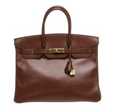 Hermes Birkin 35 featured in Brown with Gold hardware! See our full  collection    515033f66f