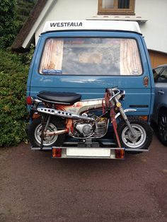 VW Vanagon Westfalia + Honda CT70