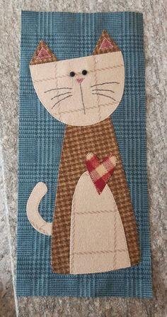 Cat Applique, Applique Patterns, Applique Quilts, Applique Designs, Quilt Patterns, Dog Quilts, Animal Quilts, Baby Quilts, Cat Crafts