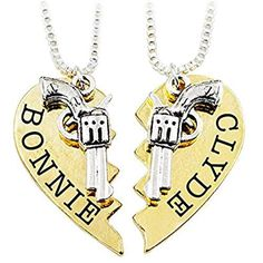 Jay z blueprint 2 the gift the curse hip hop i love her bonnie clyde letter necklace valentines day gift gold silver tone 2 piece heart shape puzzle malvernweather Gallery