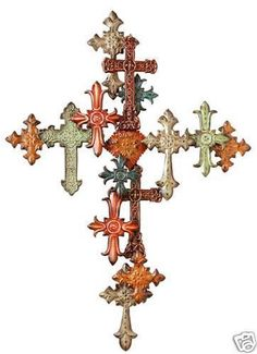 Go to Lone Star Western Decor today and enjoy markdowns up to on rustic metal wall art, like this Multiple Cross Wall Decor! Cross Wall Decor, Wall Art Decor, Cross Wall Collage, Cross Wall Art, Metal Walls, Metal Wall Art, Iron Wall, Cross Love, Old Rugged Cross