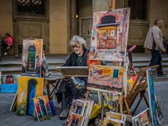 "January 28, 2016: Thousand Word Thursdays: An Artist in Florence."" capa.org/florence"