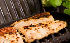 Awesome Honey Ginger Grilled Salmon recipe for your Foreman Grill. You gotta try this!
