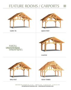 mobilehomemai… has some shopping and installation tips regarding carports for mobile homes. Plan Carport, Carport Garage, Pergola Carport, Carport Designs, Timber Frame Homes, Timber Frames, Metal Homes, Prefabricated Houses, Cabana