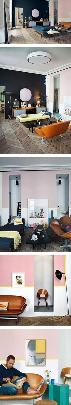 Beautiful Jean Christophe Aumas' Paris apartment
