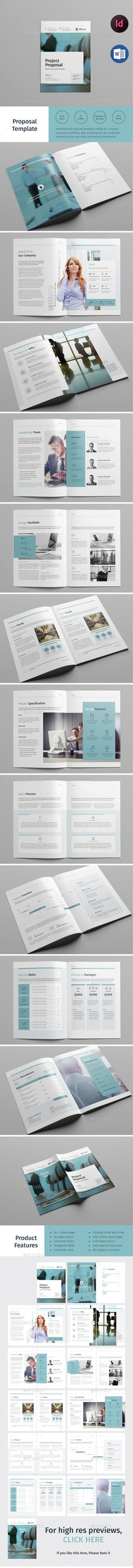 Project #Proposal Template MS #Word Business Proposal - microsoft word proposal templates