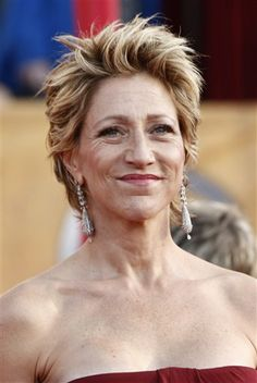 She is a master actress and a really intriguing/enigmatic human being.  Her work as Carmela Soprano may be one of the finest bodies of dramatic acting in history.  I challenge you to find a woman working in television who can surpass her...