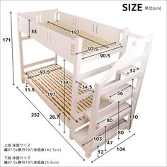 Handmade Bed With Storage For Civil Engineers New Technology - Engineering Discoveries Bunk Beds With Drawers, Bunk Beds With Stairs, Cool Bunk Beds, Kids Bunk Beds, Building Furniture, Space Saving Furniture, Loft Bed Plans, Bunk Bed Rooms, Cool Kids Bedrooms