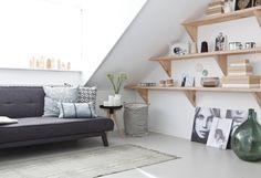 De nieuwe zolder van Lotte en Maarten | Make-over door Kim van Rossenberg