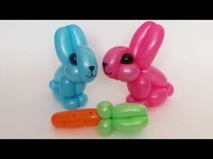 How to make one balloon rabbit :)