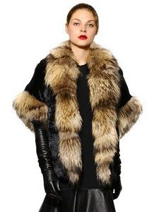 Jo No Fui - Murmansky And Lapin Fur Coat | FashionJug.com