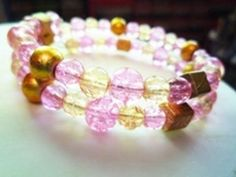 How to Make a Memory Wire Bracelet - Jewelry-making Tutorial - YouTube