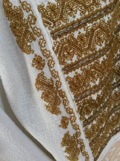 Folk Embroidery, Bargello, Needlework, Costume, Blouse, Easy, Clothes, Shoes, Blouse Band