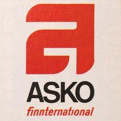 scandinavian design. finland. logo. logotype. 1960s. 1970s