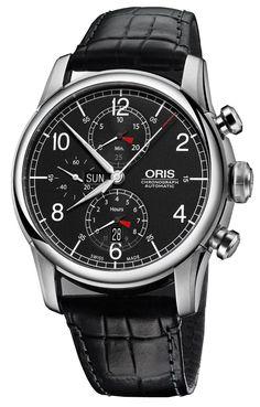 Oris Raid Chronograph 2013 #luxurywatch #Oris-swiss Oris Swiss Watchmakers  Pilots Divers Racing watches #horlogerie @calibrelondon