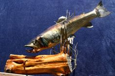 3D fish by IronCanvasCreations on Etsy, $500.00