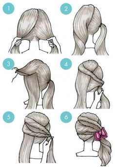 60 Simple DIY Hairstyles for Busy Morning # Hairstyles Hair . - DIY Haare Frisuren - Make up Little Girl Hairstyles, Pretty Hairstyles, Braided Hairstyles, Simple Hairstyles, Quick Hairstyles For School, Wedding Hairstyles, Hair Dos, Hair Designs, Hair Hacks