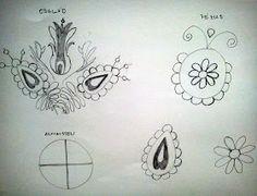 Magyar Otthon: Kalotaszegi nagyírásos Hungarian Embroidery, Tattoos, Irezumi, Tattoo, Tattoo Illustration, A Tattoo, Tattoo Ink, Tattoo Designs, Tattooed Guys
