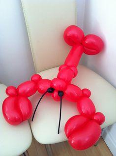 Lobster balloon animal