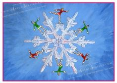 Snowflake Dream - Holiday Cards