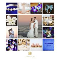 Hyatt Regency Clearwater Beach, Purple and Blue Wedding, Bride and Groom, Limelight Photography, www.stepintothelimelight.com