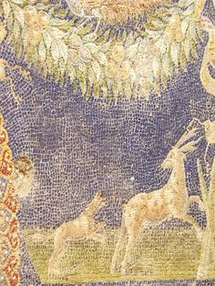 Mosaic in Bath Complex in Herculaneum Roman 1st century CE
