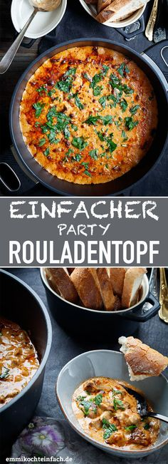 Einfacher Party Rouladentopf à la Ute beef recipes recipes crockpot recipes cubed recipes easy recipes for dinner recipes slow cooker recipes steak beef recipes beef recipes beef recipes Mexican Dinner Recipes, Shrimp Recipes, Mexican Food Recipes, Crockpot Recipes, Ethnic Recipes, Slow Cooker Party Recipes, Delicious Recipes, Latin Food, Recipe For 10