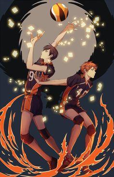 Kageyama and Hinata | Haikyuu!! ||
