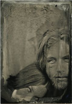 another look.... angela & ithyle   Wet Plate Collodion Tintype