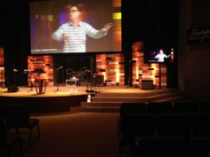 Stage Design. The Father's House, Napa, CA Campus.