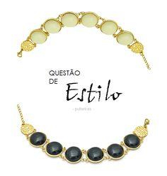 Novas pulseiras para deixar o look mais fashion!  Confira aqui:http://migre.me/lgQw1  #composeacessorios #pulseiras #circle #composedesign