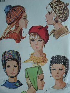 Vintage Mod Hats