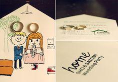 Ring / 結婚指輪 / 新郎 / 新婦 / crazy wedding / ウェディング / 結婚式 / オリジナルウェディング/ オーダーメイド結婚式/招待状