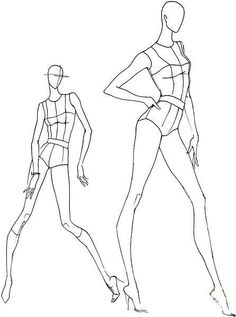 Fashion Design Sketches 279293614379380350 - croquis Source by nathalierebolla Fashion Illustration Poses, Fashion Illustration Template, Illustration Mode, Fashion Illustrations, Design Illustrations, Fashion Figure Drawing, Fashion Model Drawing, Croquis Fashion, Arte Fashion