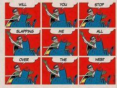 Robin strikes back.