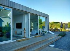 Studio in Mecox Gardens Southampton. Compact Living, Southampton, Prefab, Tiny House, Garage Doors, Gardens, Studio, Architecture, Outdoor Decor