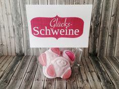 leckere Glücksschweinchen von suppar  auf DaWanda.com