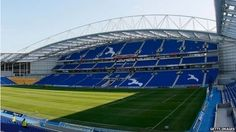American Express Community Stadium (Amex), Falmer, Brighton, East Sussex - home ground of Brighton and Hovel Albion (Getty Images) Brighton & Hove Albion Fc, Football Stadiums, East Sussex, The Other Side, Soccer, Community, English, Park, American