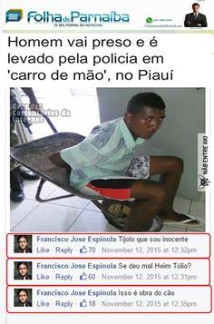 Só no Brasil msm kkkkk Top Memes, Best Memes, Memes Humor, Funny Images, Funny Pictures, Deep Dark Fears, Crazy Mind, Do Or Die, Humor Grafico