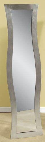 Bassett Mirror Company Shaped Rectangle Dressing Mirror - Silver BM-M2815 $286.00