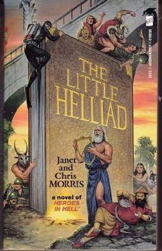 The Little Helliad (Baen Fantasy) by Janet Morris, http://www.amazon.com/dp/0671653660/ref=cm_sw_r_pi_dp_PxrUpb0QTCW24
