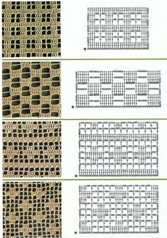Filet crochet patterns for crochet curtains