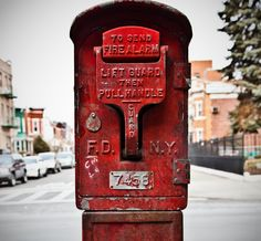 Fire alarm box 7458 is actually at 30th Dr. and 23rd St. in ASTORIA, QUEENS. NOT Brooklyn. Don't sweat it, I'll let you slide...THIS time!!!!!