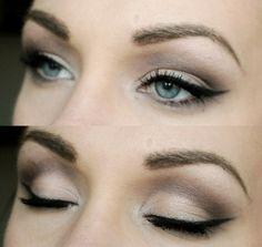 colors, makeup, easi wing, beauti, beauty, winged eyeliner, eye liner, everyday look, eyes