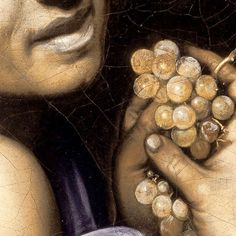 """Young Sick Bacchus"" by Michelangelo Merisi da Caravaggio (Detail, Baroque Painting, Baroque Art, Italian Painters, Italian Artist, Michelangelo Caravaggio, Greek Pantheon, Renaissance Artists, Dramatic Lighting, Bacchus"