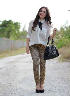 Nany's Klozet: A Classic Take on Leopard Jeans